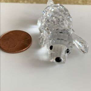 Swarovski crystal Dog